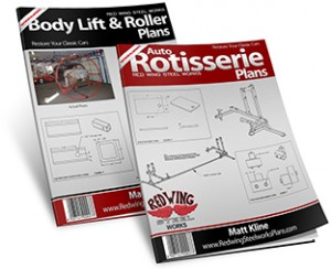 Auto Rotisserie & Body Lift & Roller Plans Combined Large